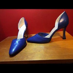 Genuine leather heels